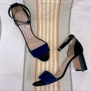Manolo Blahnik Lauratomod Ankle Strap Sandal